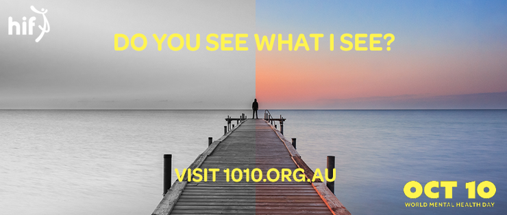 World Mental Health Day – Do You See What I See?