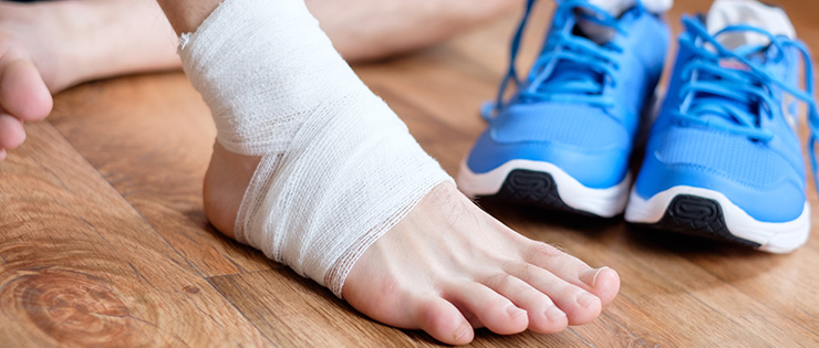 Managing An Ankle Sprain