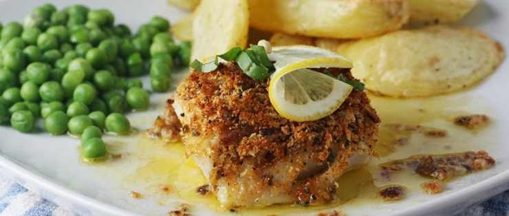 Healthier Fish and Chips