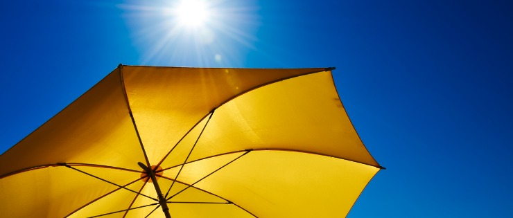 Sunscreen protects us from UVA & UVB rays