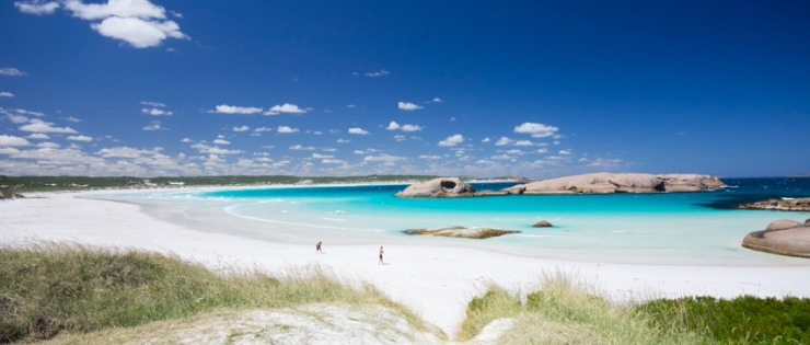 Turquoise blue water located in Esperance